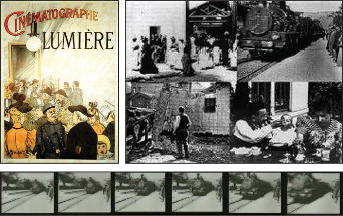 İlk Film Trenin Gara Girişi