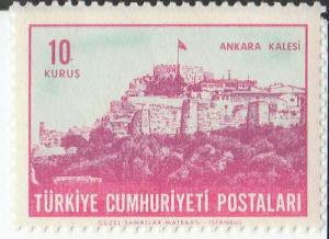 Ankara Kalesi  Posta Pulu