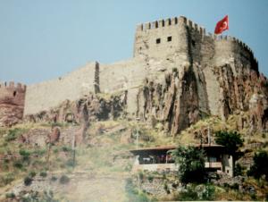 Ankara Kalesi, Kuzeydoğu Surları ve Ak Kale, 2011.